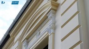 műemlék jellegű épület felújítása
