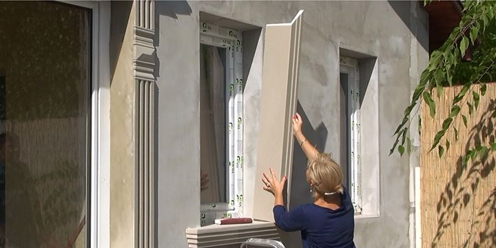 Ajtók, ablakok kávatakarásának kivitelezése díszlécekkel