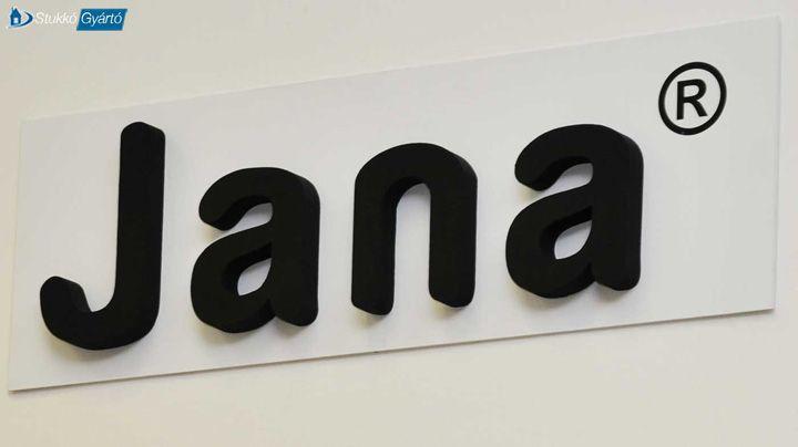 A felirat állhat 3D betűk készítése mellett a céglogó tartalmazhat számokat vagy akár alakzatokat is
